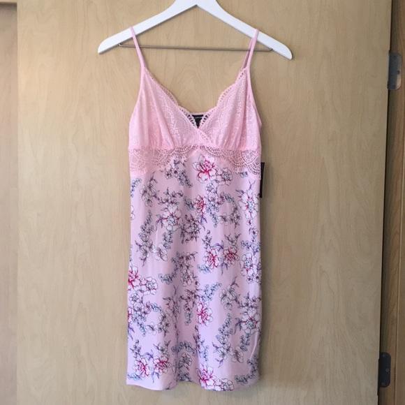 fbb1808ec929 INC International Concepts Intimates & Sleepwear | Nwt Pink Pastel ...